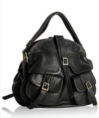 Saddle Bag: a large bag (or pair of bags) hung over a saddle. Many designers use saddle bag as an inspiration for their designs. Therefore, their bags are called saddle bags, even though they are not actually saddle bag.