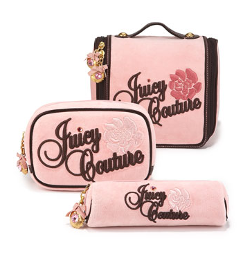 Cosmetic case: bags of varying sizes and shapes with a zip closure lined to hold cosmetics.
