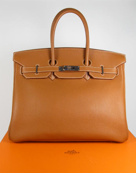 Authentic Hermes Birkin (front)