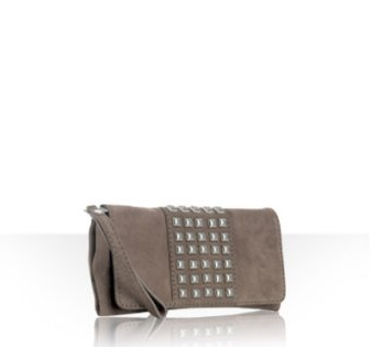 Wristlet - a clutch shaped bag that comes with an attached leather or bracelet-looking strap allowing you to hold your bag and dance freely.