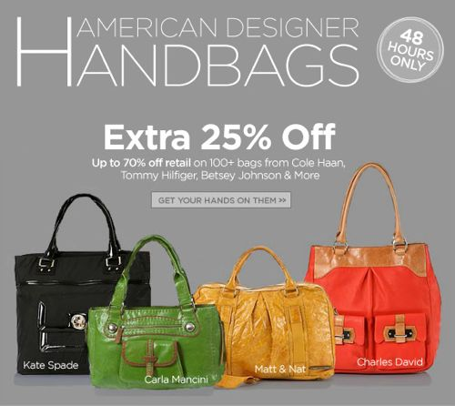 American Designer Handbags Sale | Bag Bible