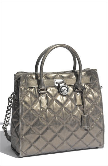 Michael Kors Hamilton Quilted Tote